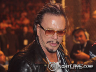 Mickey Rourke Talks About Why He Pulled Out Of 'Mania, More