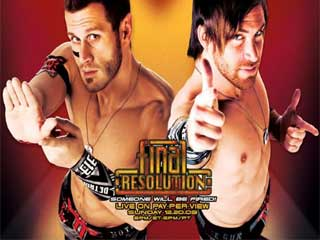 Final Card For Tonight's TNA Final Resolution PPV