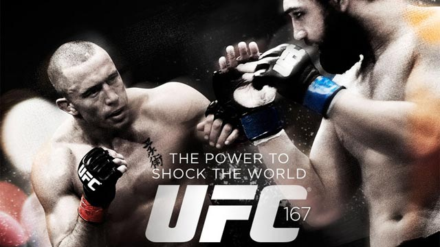 'UFC 167: St-Pierre Vs. Hendricks' Results